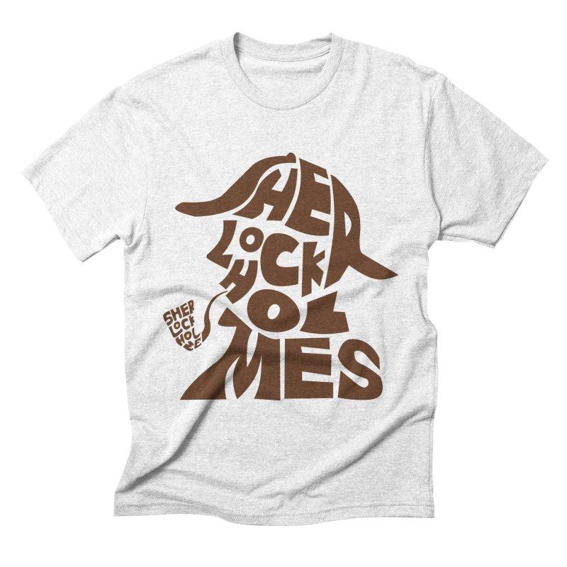 SHERLOCK HOLMES Men's Triblend T-shirt by kajenoz's Artist Shop