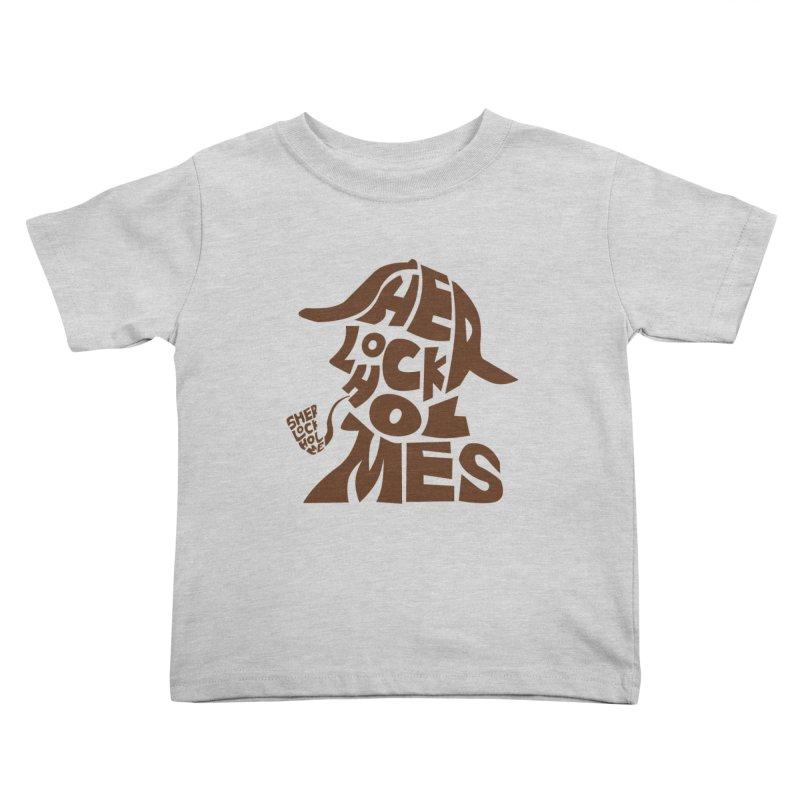 SHERLOCK HOLMES Kids Toddler T-Shirt by kajenoz's Artist Shop