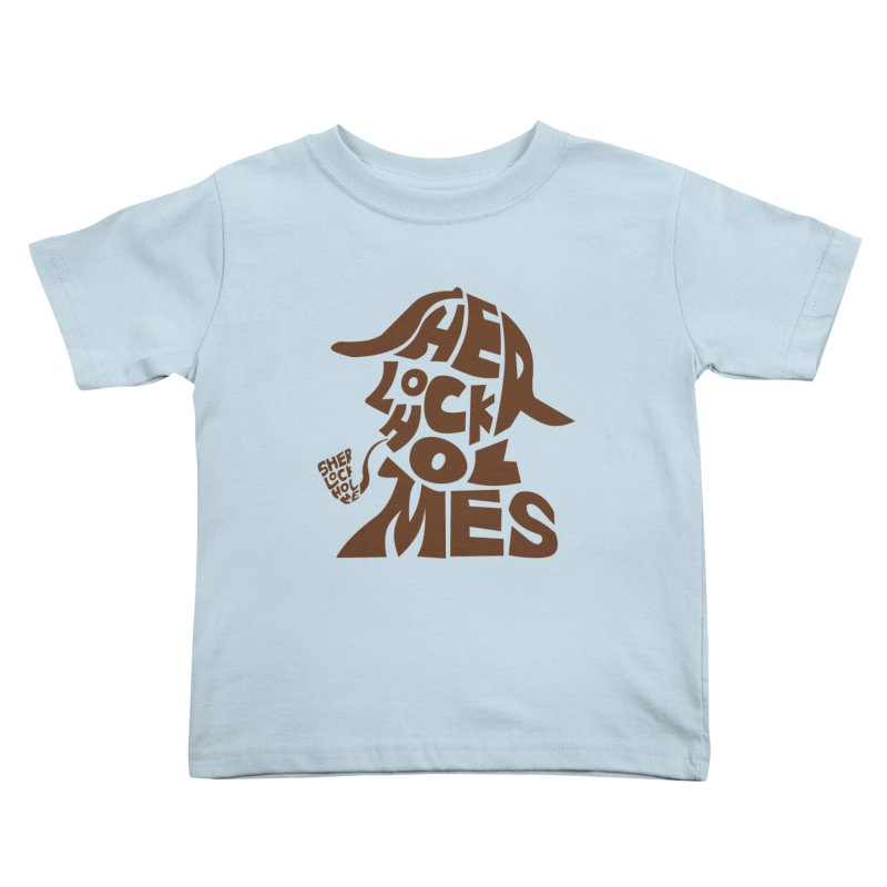 SHERLOCK HOLMES Kids Toddler T-Shirt by kajenoz's Artist Shop