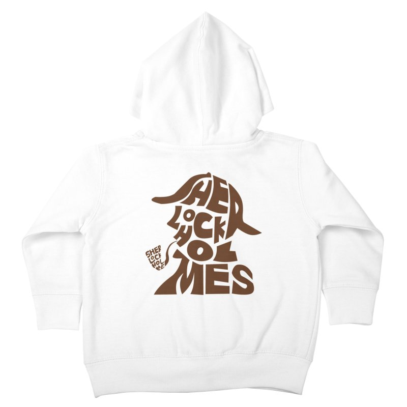 SHERLOCK HOLMES Kids Toddler Zip-Up Hoody by kajenoz's Artist Shop