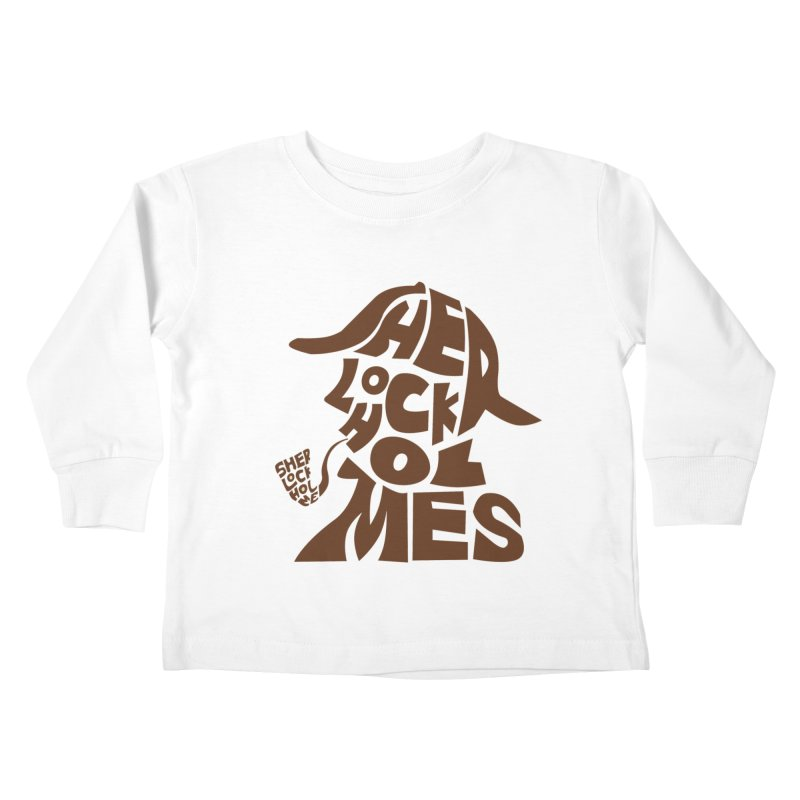 SHERLOCK HOLMES Kids Toddler Longsleeve T-Shirt by kajenoz's Artist Shop