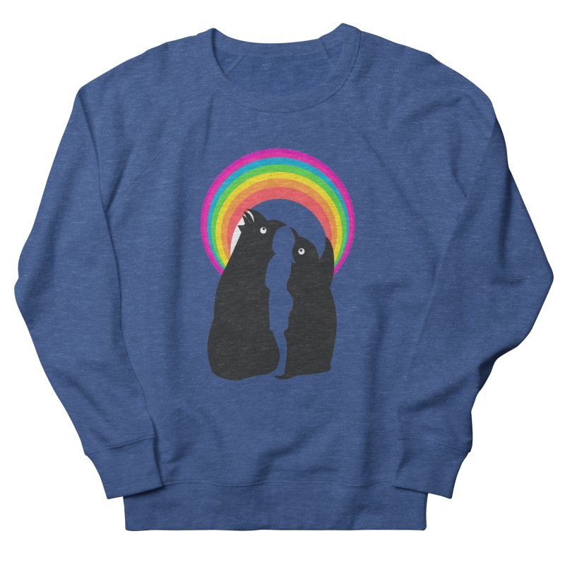PENGUINS, GIRL, RAINBOW Men's Sweatshirt by kajenoz's Artist Shop