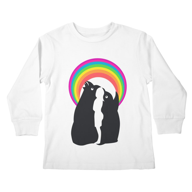 PENGUINS, GIRL, RAINBOW   by kajenoz's Artist Shop