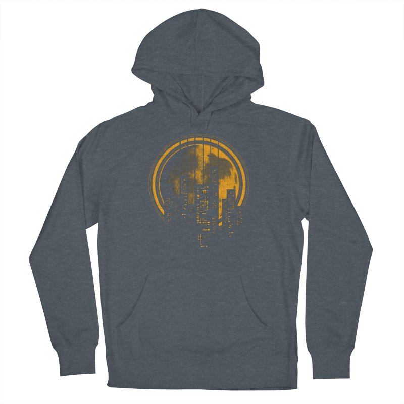 Six String City Nights Men's Pullover Hoody by Kakolak