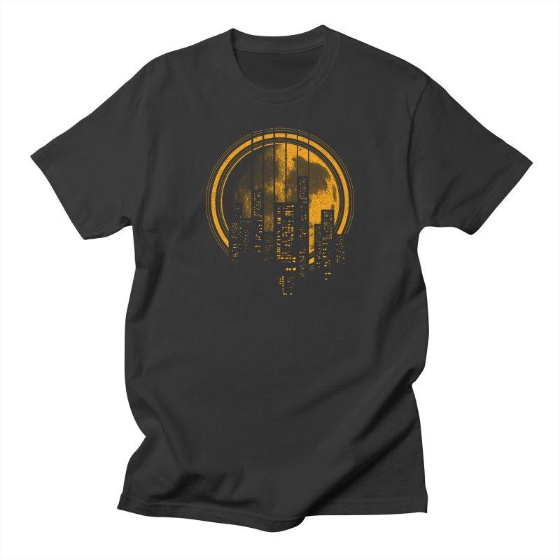 Six String City Nights Men's T-shirt by Kakolak
