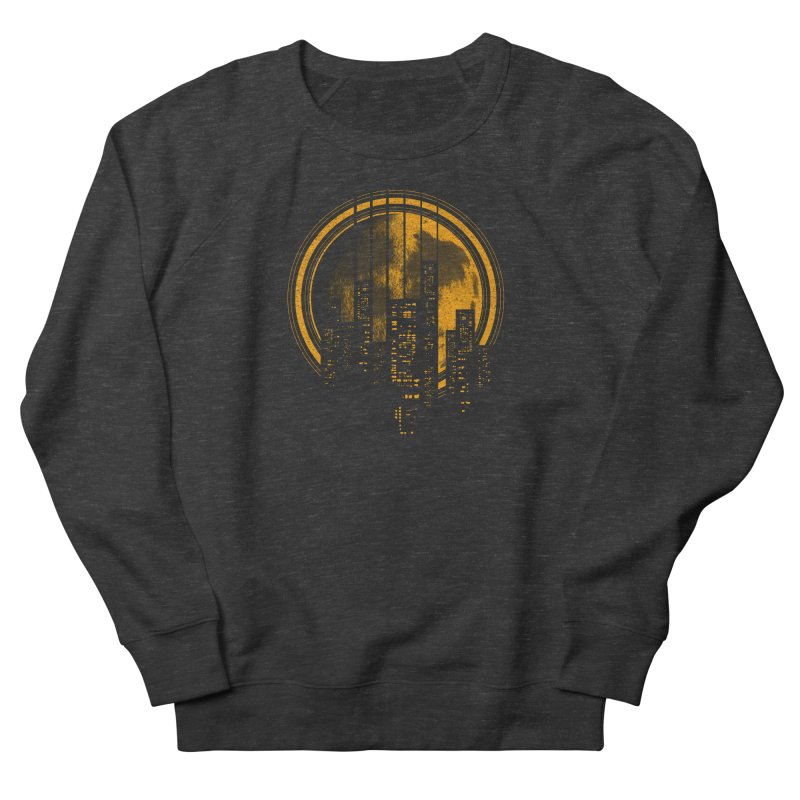 Six String City Nights Men's Sweatshirt by Kakolak