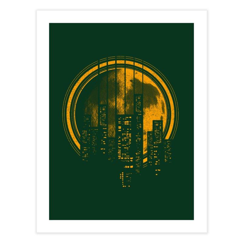 Six String City Nights Home Fine Art Print by Kakolak