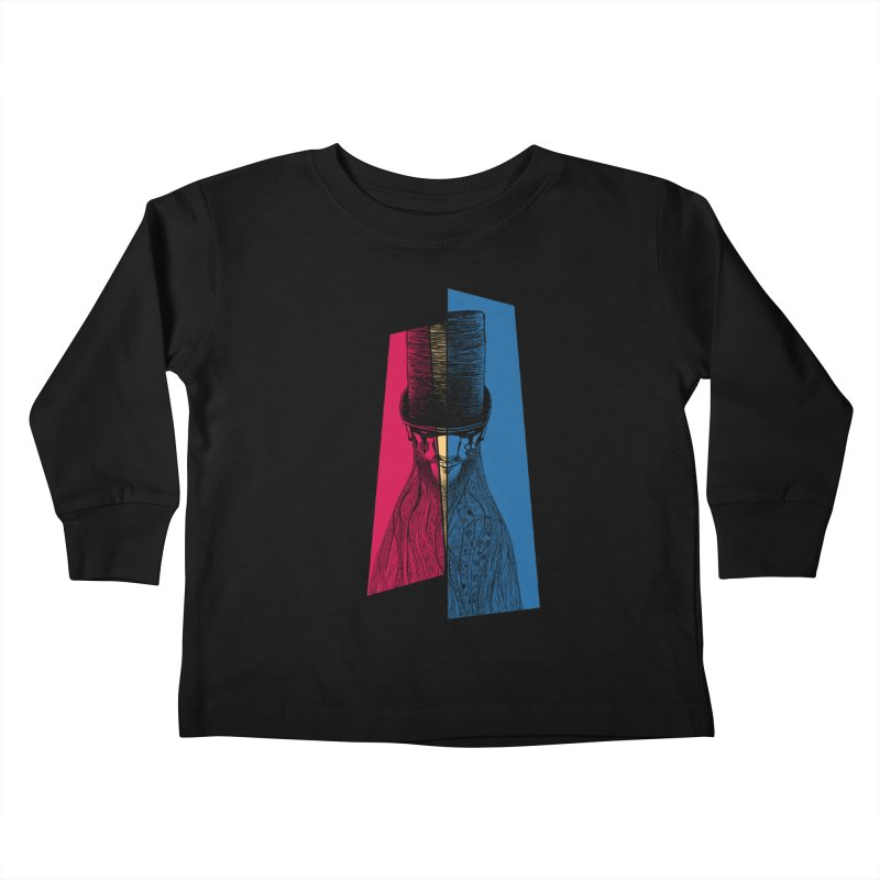 Preacher Man Kids Toddler Longsleeve T-Shirt by Kakolak