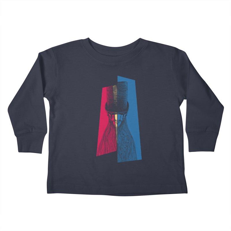 Preacher Man Kids Toddler Longsleeve T-Shirt by Kakolak