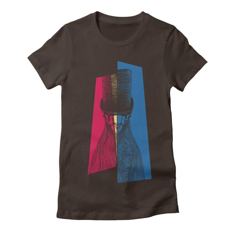 Preacher Man Women's Fitted T-Shirt by Kakolak