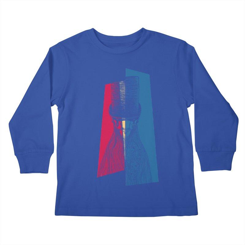 Preacher Man Kids Longsleeve T-Shirt by Kakolak