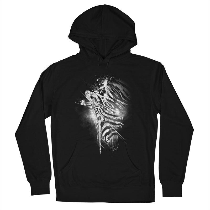 Zebra Mood Women's Pullover Hoody by Kakolak