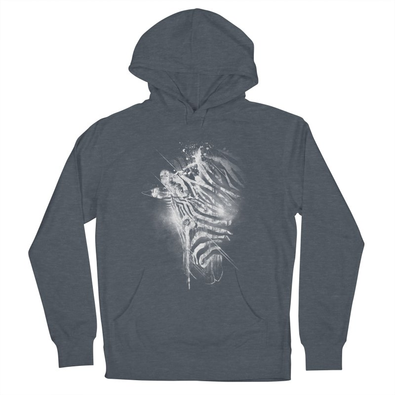 Zebra Mood Men's Pullover Hoody by Kakolak
