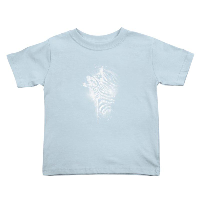 Zebra Mood Kids Toddler T-Shirt by Kakolak