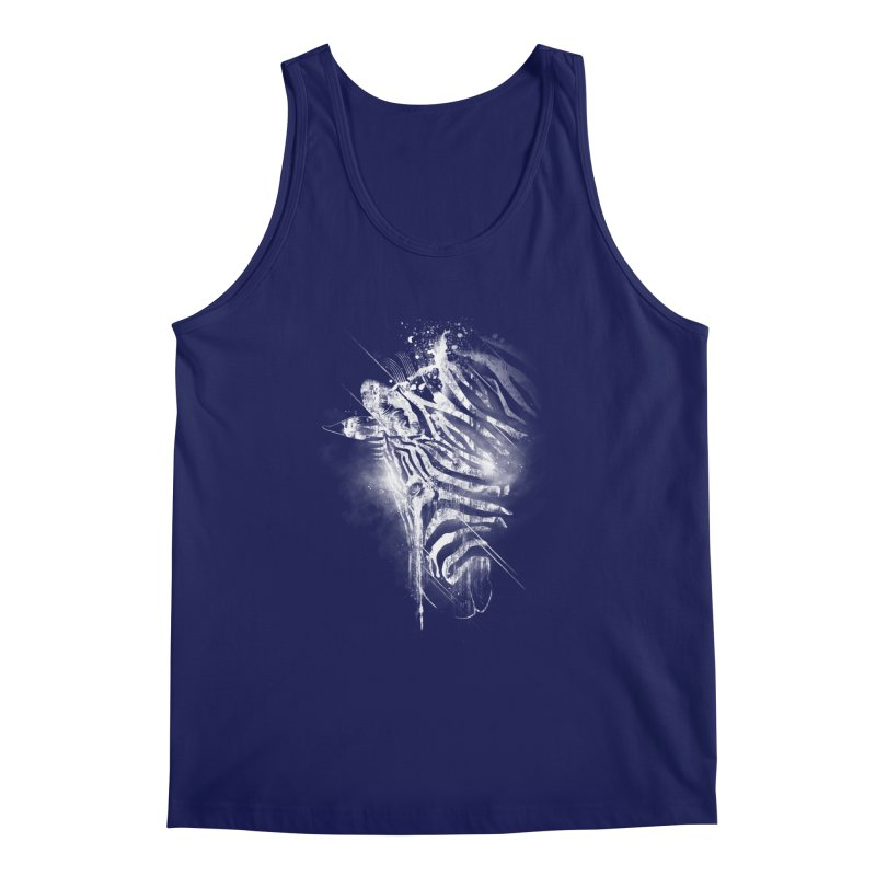 Zebra Mood Men's Tank by Kakolak