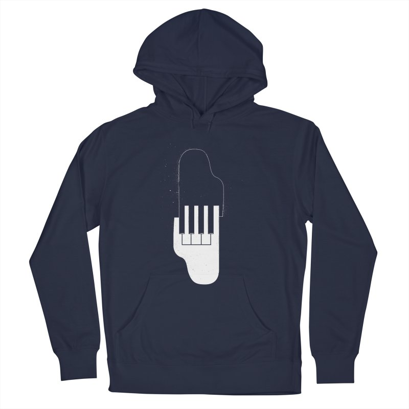 Music Hand in Hand Men's Pullover Hoody by Kakolak