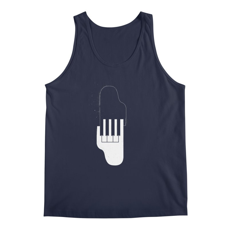 Music Hand in Hand Men's Tank by Kakolak