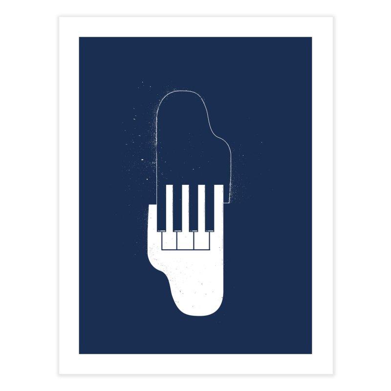 Music Hand in Hand Home Fine Art Print by Kakolak