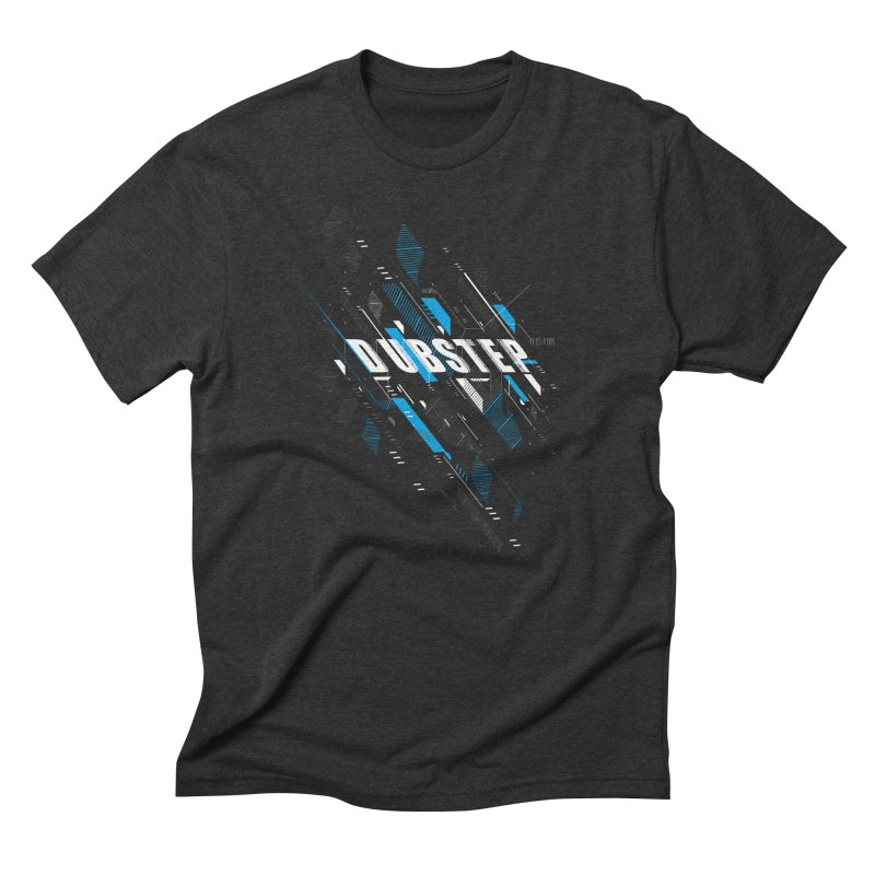D is for Dubstep Men's Triblend T-shirt by Kakolak