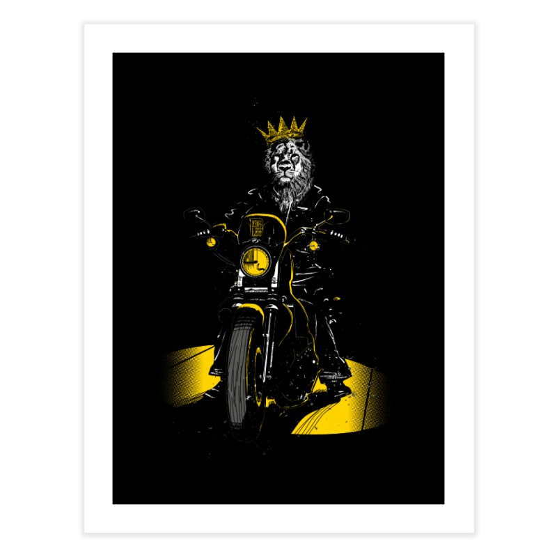Sons of Monarchy Home Fine Art Print by Kakolak