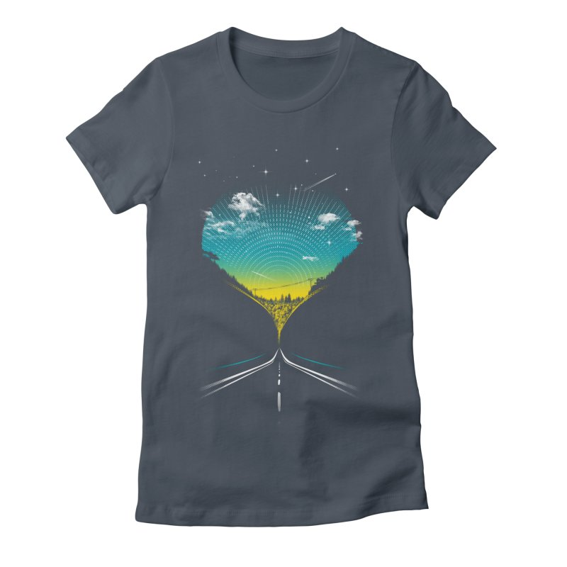 Very Close Encounters Women's Fitted T-Shirt by Kakolak