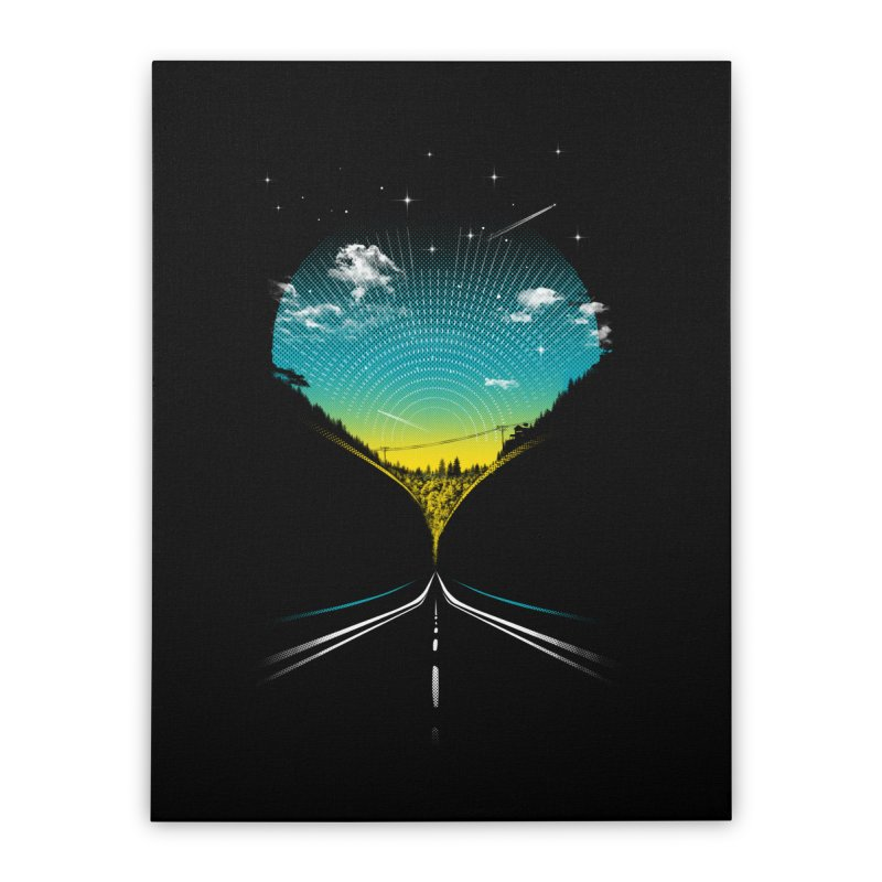 Very Close Encounters Home Stretched Canvas by Kakolak