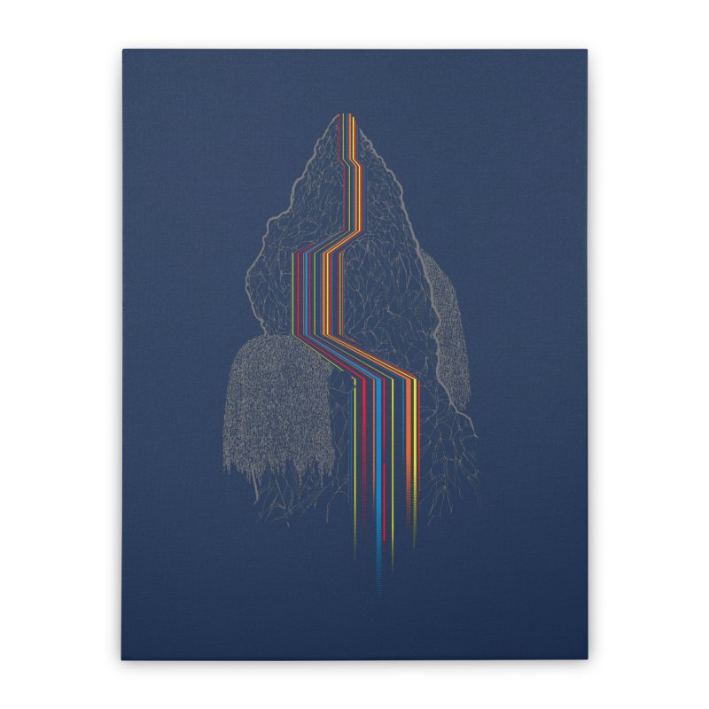 Color Falls Home Stretched Canvas by Kakolak