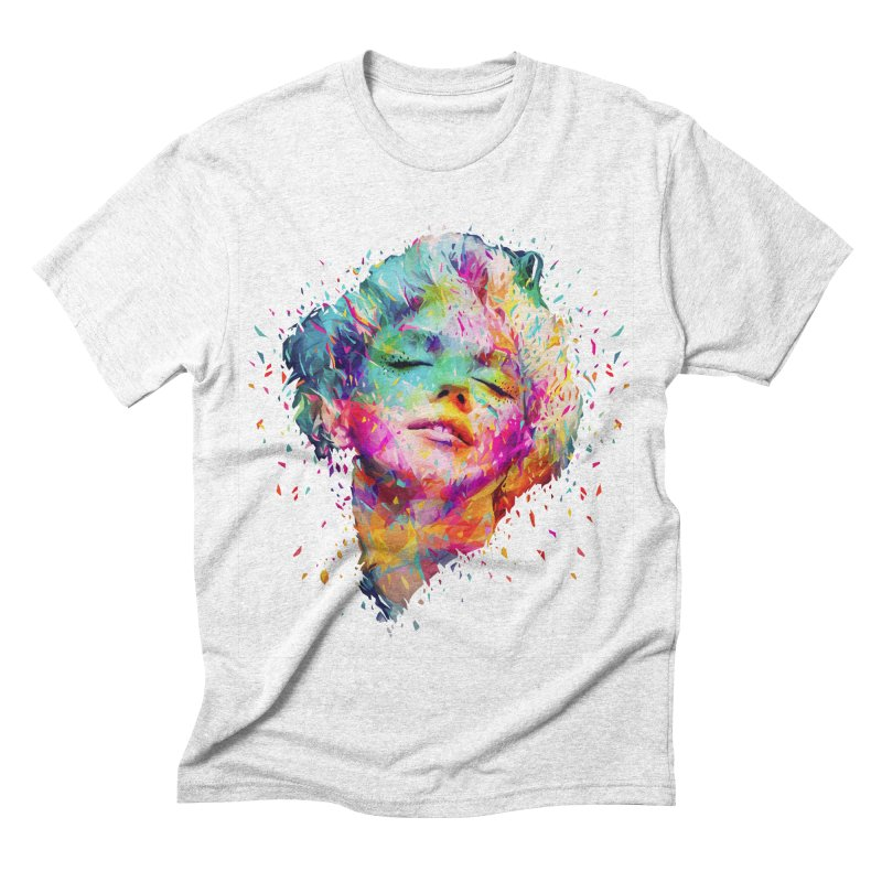 Marilyn Men's Triblend T-shirt by kaneda's Artist Shop