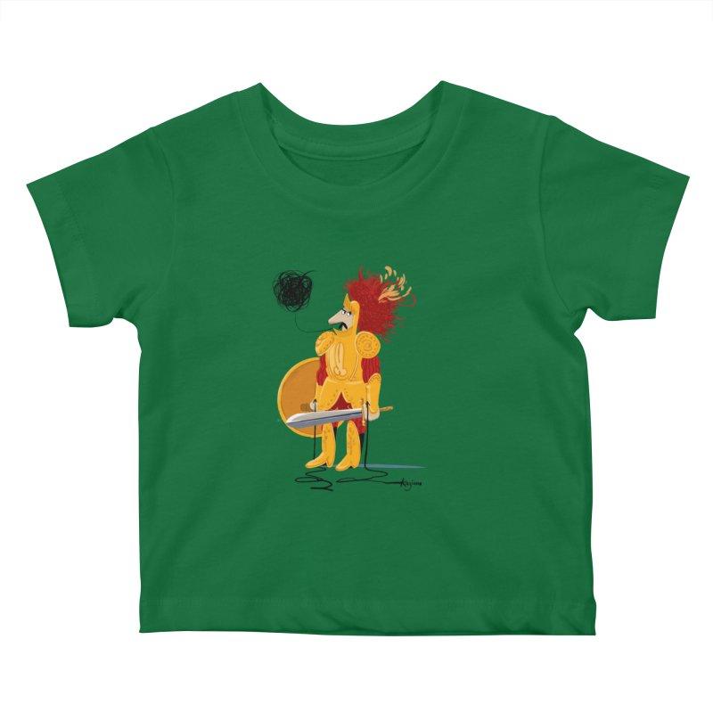 Pupo Siddiatu Kids Baby T-Shirt by Kanjano Shop