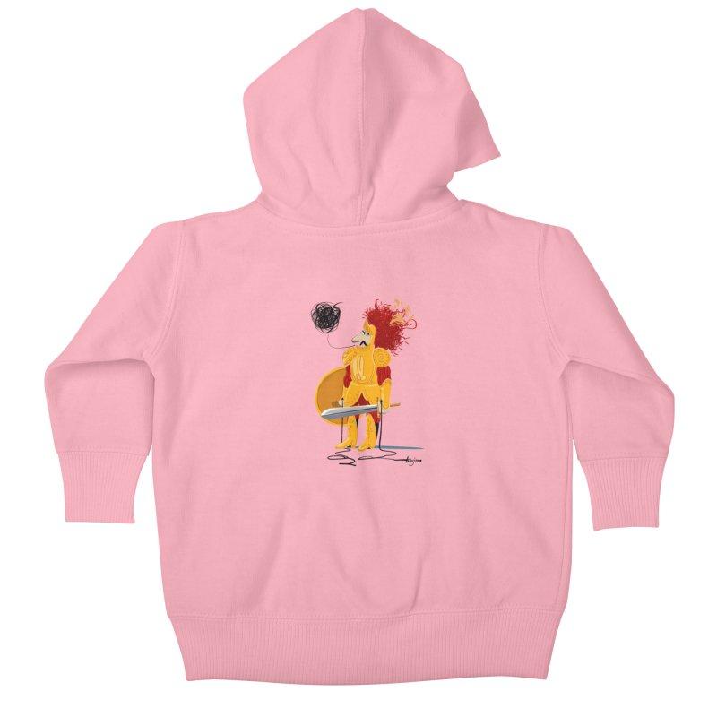 Pupo Siddiatu Kids Baby Zip-Up Hoody by Kanjano Shop