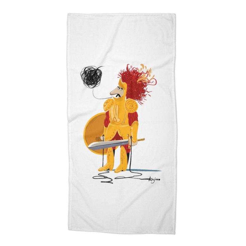 Pupo Siddiatu Accessories Beach Towel by Kanjano Shop