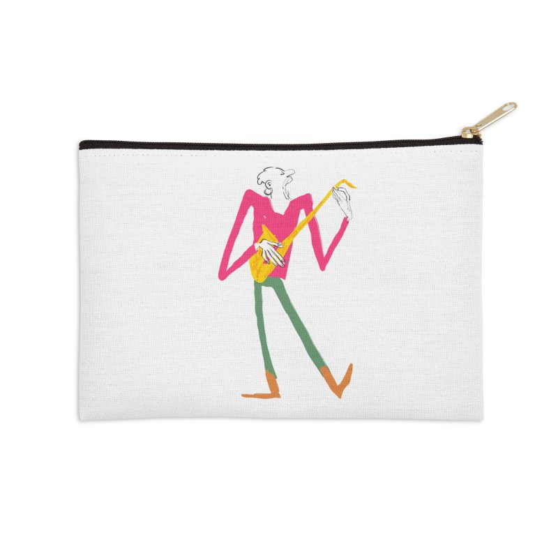 Sax Player Accessories Zip Pouch by Kanjano Shop