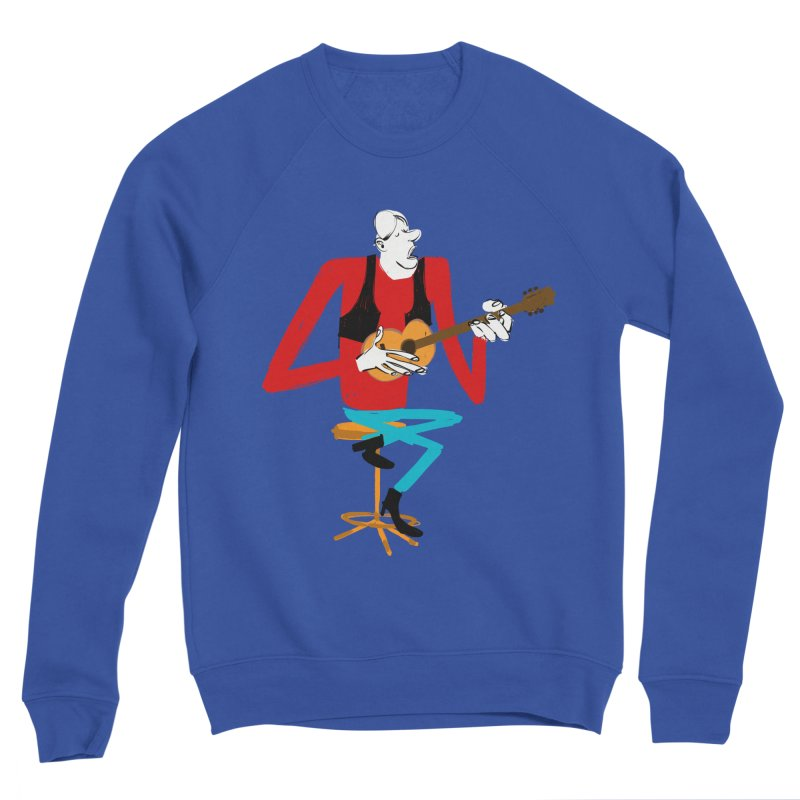 The Guitarist Men's Sweatshirt by Kanjano Shop