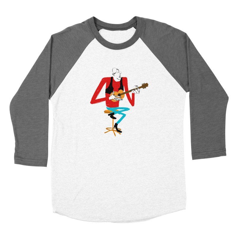 The Guitarist Women's Longsleeve T-Shirt by Kanjano Shop