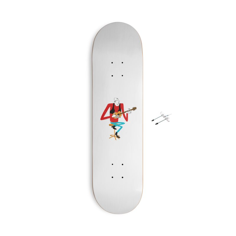 The Guitarist Accessories Skateboard by Kanjano Shop