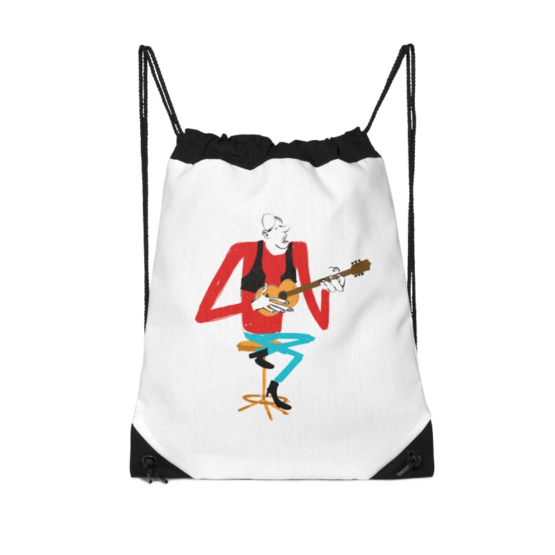 The Guitarist Accessories Bag by Kanjano Shop