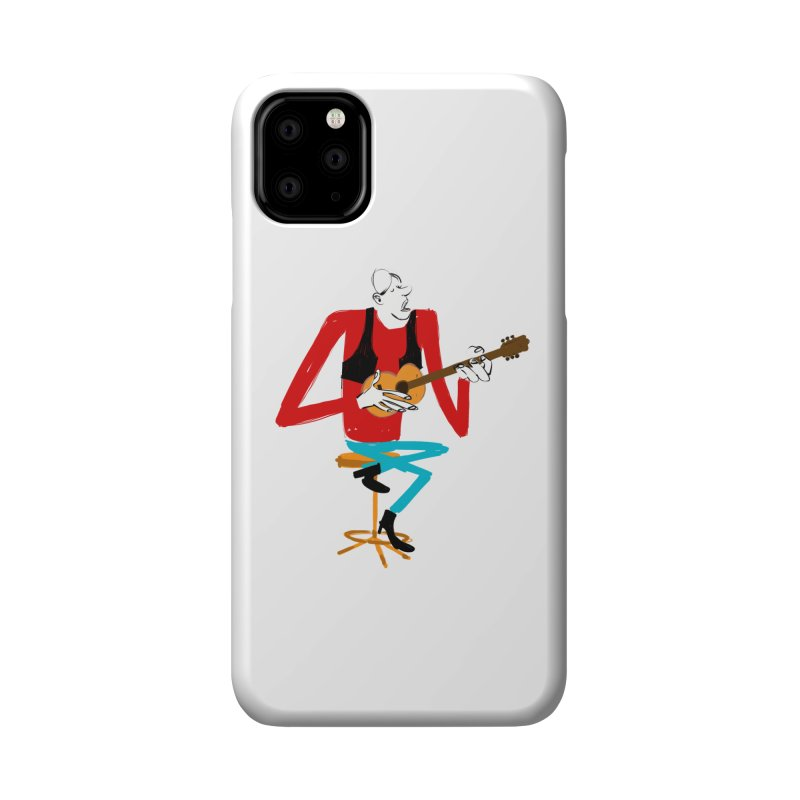 The Guitarist Accessories Phone Case by Kanjano Shop
