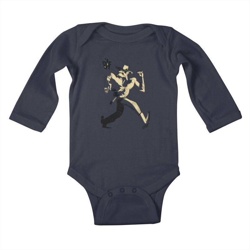 Pistolero Kids Baby Longsleeve Bodysuit by Kanjano Shop
