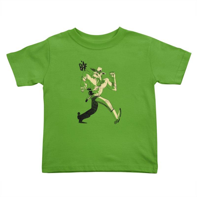 Pistolero Kids Toddler T-Shirt by Kanjano Shop
