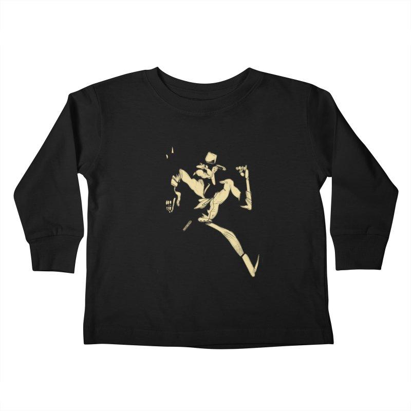 Pistolero Kids Toddler Longsleeve T-Shirt by Kanjano Shop