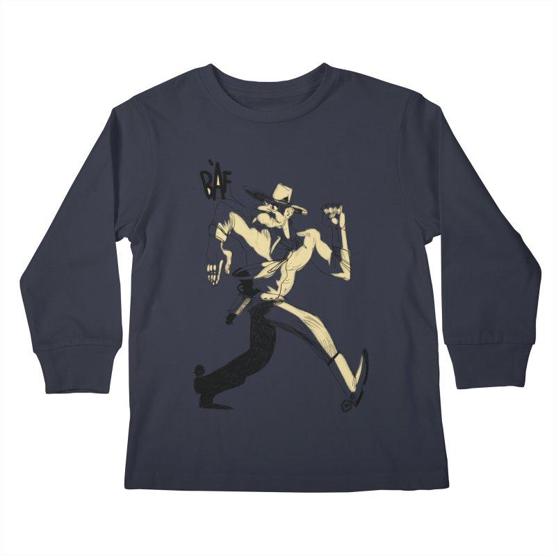 Pistolero Kids Longsleeve T-Shirt by Kanjano Shop