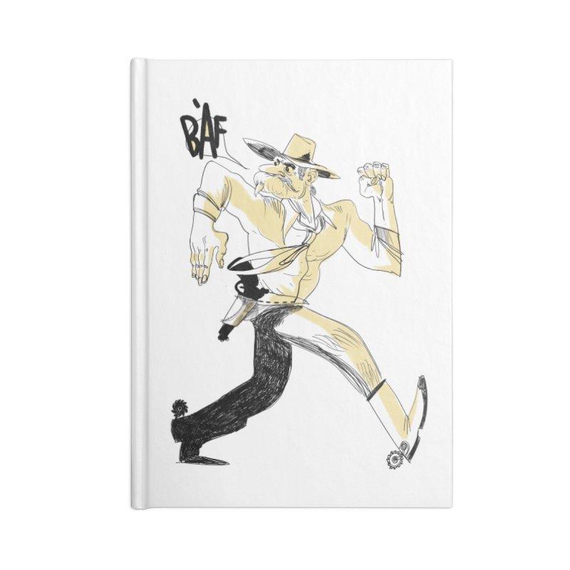 Pistolero Accessories Notebook by Kanjano Shop