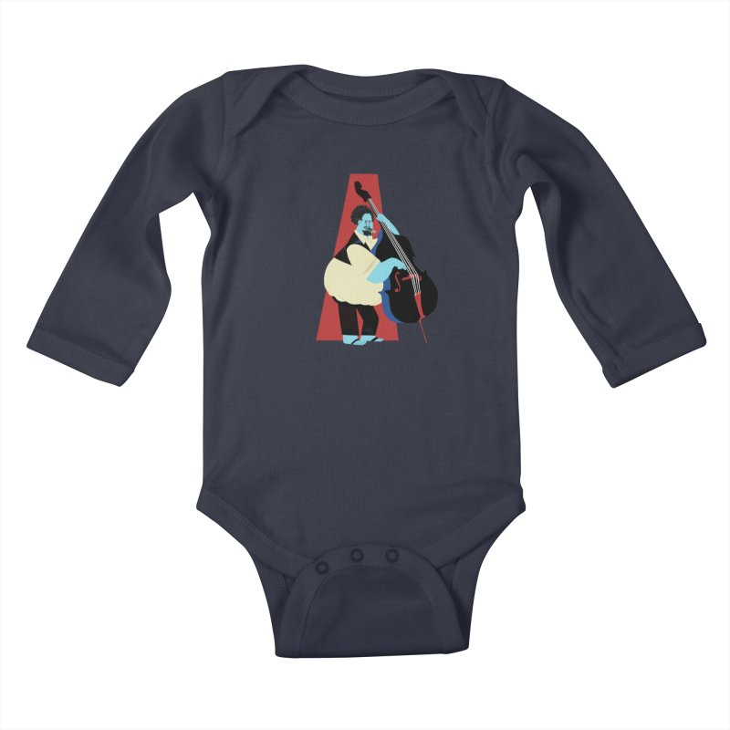 Charles Mingus Kids Baby Longsleeve Bodysuit by Kanjano Shop