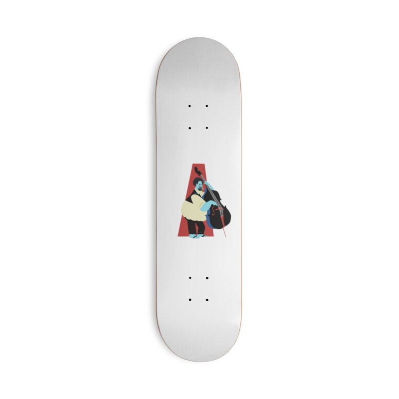 Charles Mingus Accessories Skateboard by Kanjano Shop