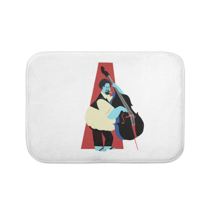 Charles Mingus Home Bath Mat by Kanjano Shop