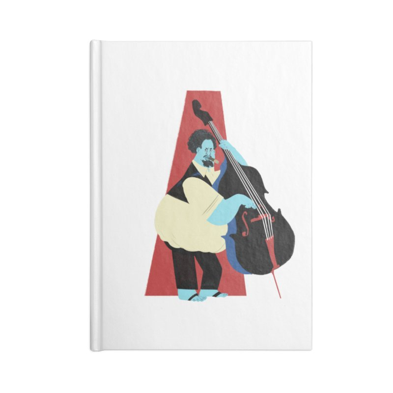 Charles Mingus Accessories Notebook by Kanjano Shop
