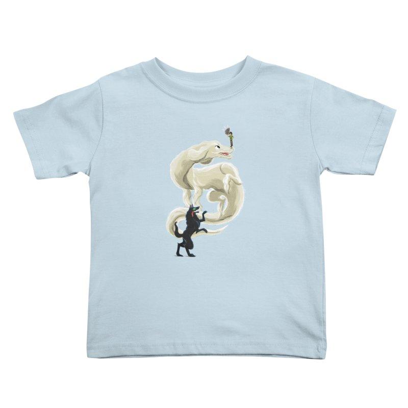 Neverending Story Kids Toddler T-Shirt by Kanjano Shop
