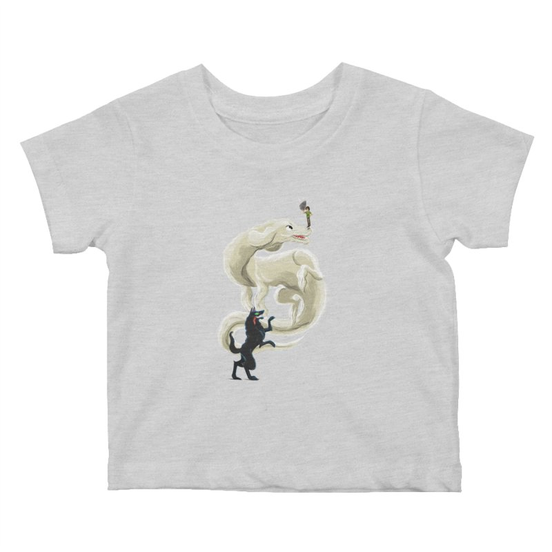 Neverending Story Kids Baby T-Shirt by Kanjano Shop