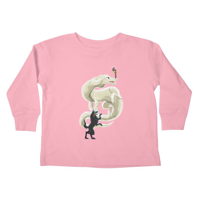Neverending Story Kids Toddler Longsleeve T-Shirt by Kanjano Shop