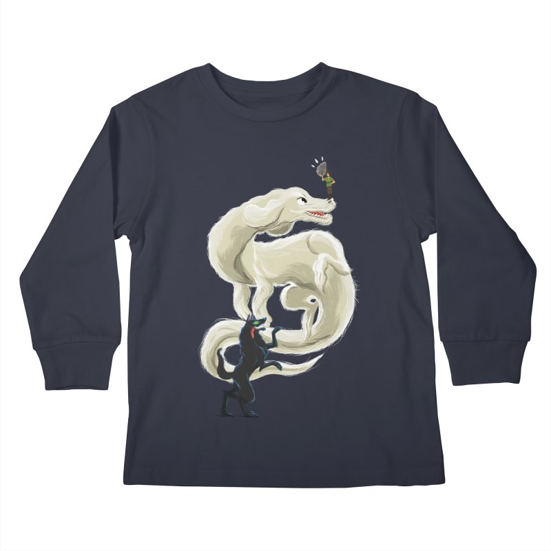 Neverending Story Kids Longsleeve T-Shirt by Kanjano Shop